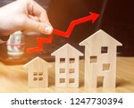the concept of real estate...   Shutterstock . vector #1247730394