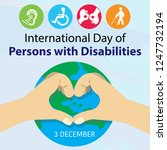 international day of person... | Shutterstock .eps vector #1247732194