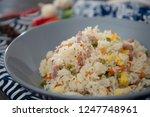 cantonese fried basmati rice...   Shutterstock . vector #1247748961