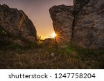 landscape nature view unseen in ... | Shutterstock . vector #1247758204