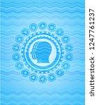 team work icon inside water... | Shutterstock .eps vector #1247761237