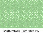 green vintage polka background... | Shutterstock .eps vector #1247806447