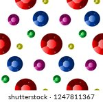 jewels seamless pattern. vector ... | Shutterstock .eps vector #1247811367