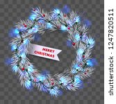 Wreath From Blue Christmas...