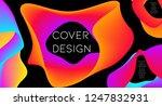 futurist abstract vector... | Shutterstock .eps vector #1247832931