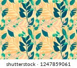 retro pattern with colored... | Shutterstock . vector #1247859061
