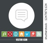 very useful vector line icon of ... | Shutterstock .eps vector #1247871124