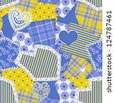 Seamless Crazy Quilt Pattern