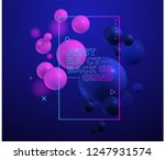 abstract colorful composition... | Shutterstock .eps vector #1247931574