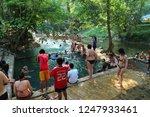 thailand  kanchanaburi province ... | Shutterstock . vector #1247933461