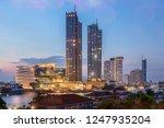 modern buildings in the city...   Shutterstock . vector #1247935204