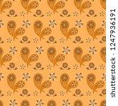 paisley seamless pattern....   Shutterstock .eps vector #1247936191