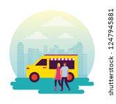 circus and fair | Shutterstock .eps vector #1247945881