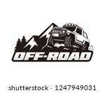 off road car logo template | Shutterstock .eps vector #1247949031