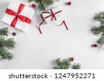 creative frame made of... | Shutterstock . vector #1247952271