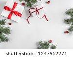 creative frame made of... | Shutterstock . vector #1247952271