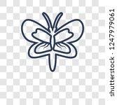 moth icon. trendy moth logo... | Shutterstock .eps vector #1247979061