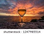 views around the small... | Shutterstock . vector #1247985514
