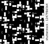 halftone monochrome texture... | Shutterstock .eps vector #1247986564