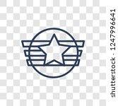 insignia icon. trendy linear... | Shutterstock .eps vector #1247996641