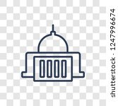 federal agency icon. trendy... | Shutterstock .eps vector #1247996674