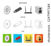 vector illustration of laptop...   Shutterstock .eps vector #1247997184