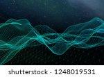 star horizon. abstract... | Shutterstock . vector #1248019531