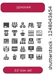 vector icons pack of 25 filled... | Shutterstock .eps vector #1248043654