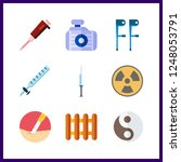 9 therapy icon. vector...   Shutterstock .eps vector #1248053791
