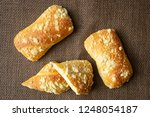 fresh pastry with cottage... | Shutterstock . vector #1248054187