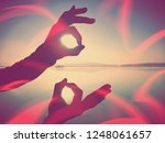 abstract  over filtered.  wrist ... | Shutterstock . vector #1248061657
