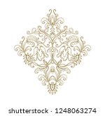 arrangemrnt of flowers   vector ... | Shutterstock .eps vector #1248063274