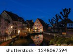 the city of colmar is decorated ... | Shutterstock . vector #1248067594