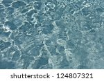 most beautiful clear pool water ... | Shutterstock . vector #124807321