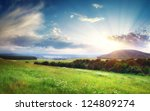 Beautiful Landscape Panorama....