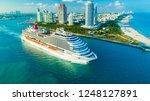 usa. florida. miami beach.... | Shutterstock . vector #1248127891