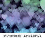 blur and bokeh  vibrant colors. ... | Shutterstock . vector #1248138421
