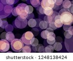 blur and bokeh  vibrant colors. ... | Shutterstock . vector #1248138424
