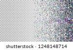 glitch background. grunge... | Shutterstock .eps vector #1248148714