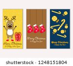 vector illustration of winter... | Shutterstock .eps vector #1248151804