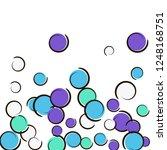 comic background with pop art... | Shutterstock .eps vector #1248168751