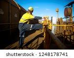 industrial rope access miner... | Shutterstock . vector #1248178741
