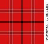 christmas and new year tartan... | Shutterstock .eps vector #1248181381