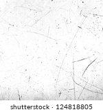 scratched texture | Shutterstock . vector #124818805