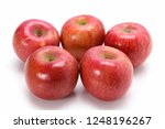 apple on plate | Shutterstock . vector #1248196267