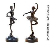 Bronze Antique Figurine Of The...