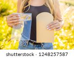 zero waste concept. use a... | Shutterstock . vector #1248257587