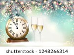 new year holiday background... | Shutterstock .eps vector #1248266314
