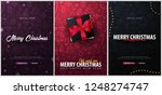 merry christmas and happy new... | Shutterstock .eps vector #1248274747
