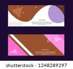 multipurpose social media kit... | Shutterstock .eps vector #1248289297